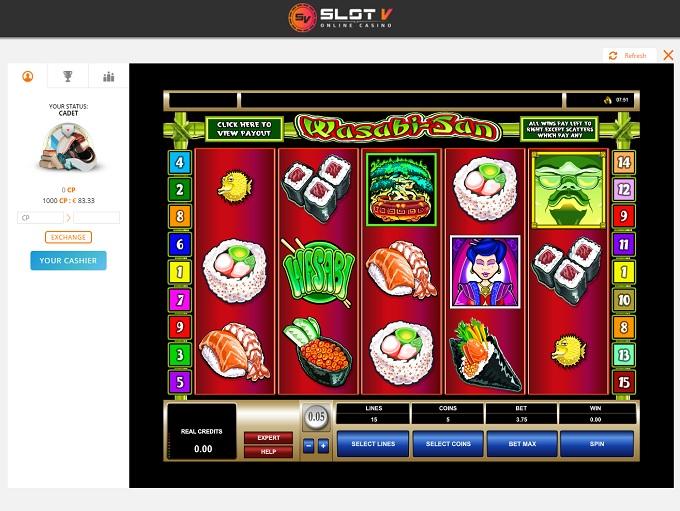 онлайн казино slot v обсуждение