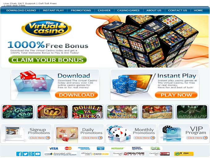 The virtual casino group players reviews online casino four card poker
