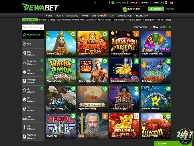 Dewabet Casino Is Rated 3 1 Out Of 5 In 2021 1 Bonus
