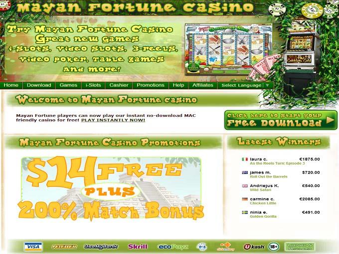 mayan fortune casino download