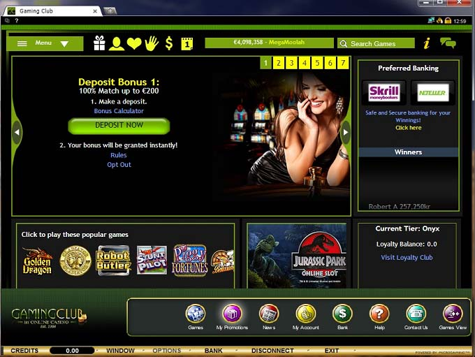 Gaming club flash casino directory gambling game google gt gt