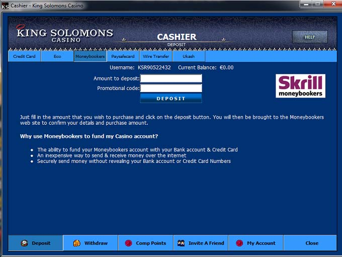 King Solomons Casino Review – Is this A Scam/Site to Avoid