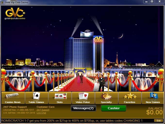 Gold vip club casino codes boom casino shreveport town