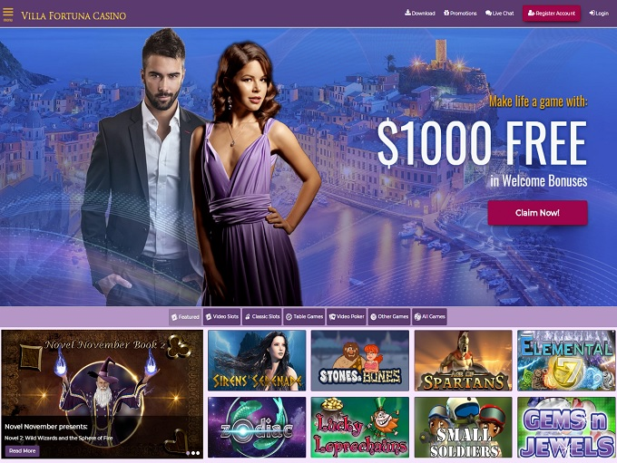 Villa Fortuna Casino Review – Is this A Scam/Site to Avoid