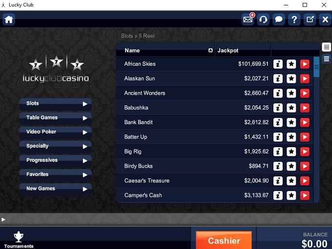 Lucky Club Casino.Com
