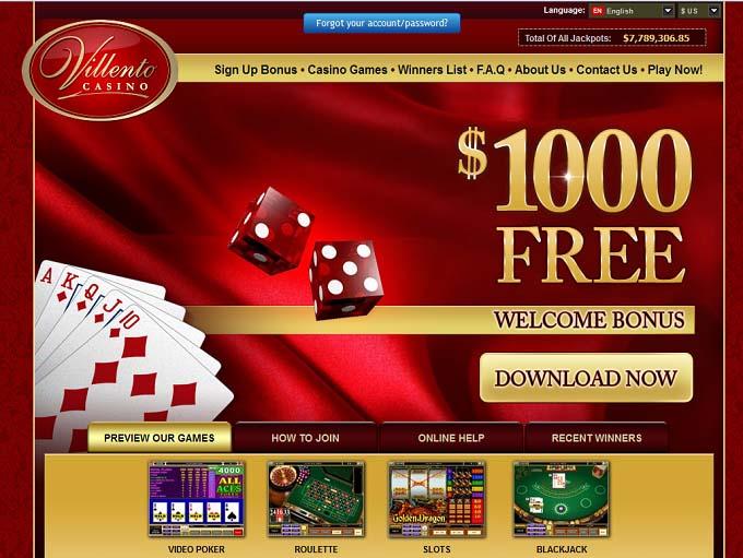 Villento las vegas online casino cruise ships casinos