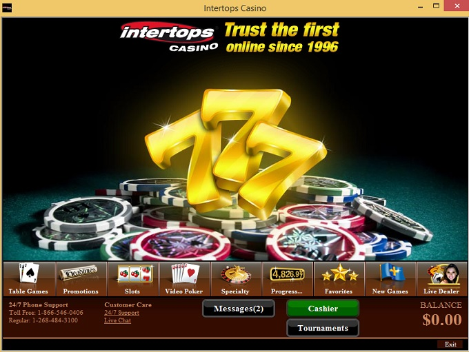 Intertops com casino top casino sites