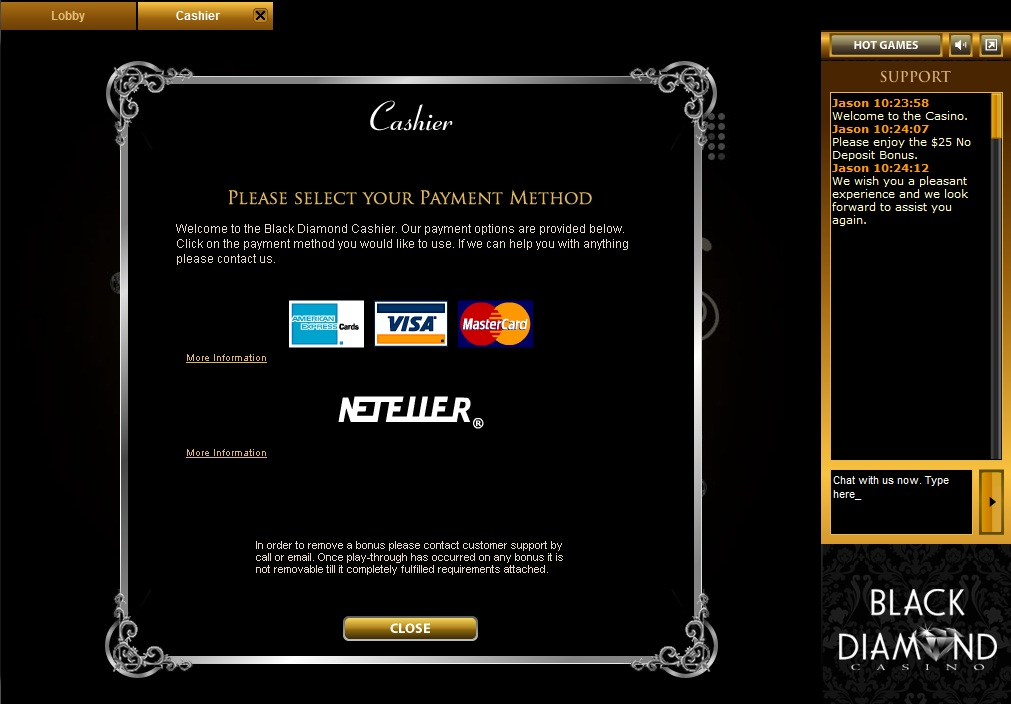 Black Diamond Casino Review – Is this Another Topgame Scam?