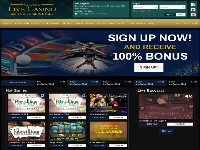 online live casino wizards win