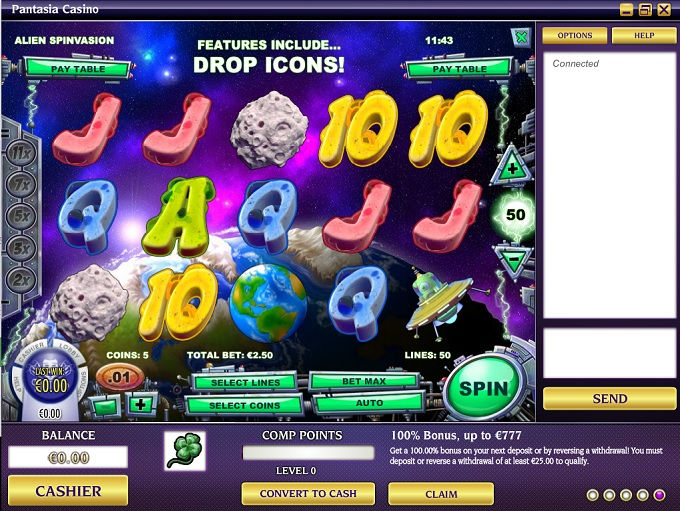 Pantasia Casino - Review and Special Offers