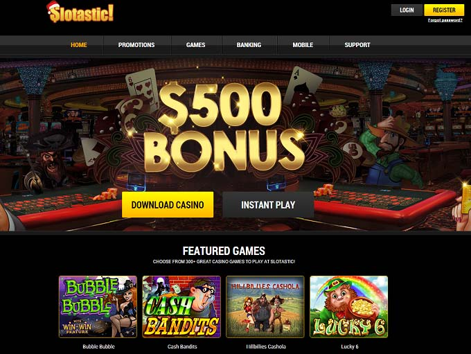 Slotastic online casino publicly traded casino