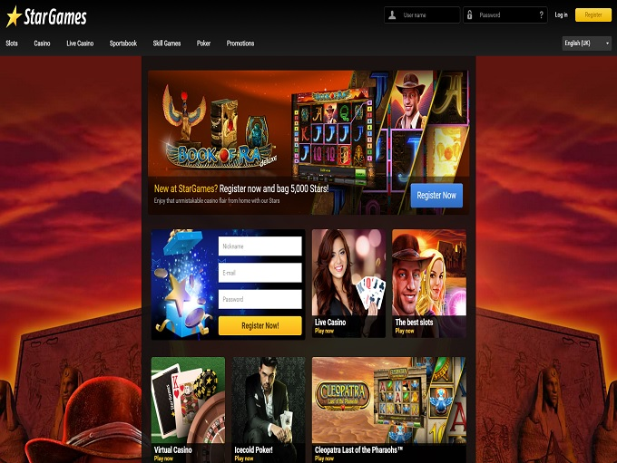 start online casino gambling casino games