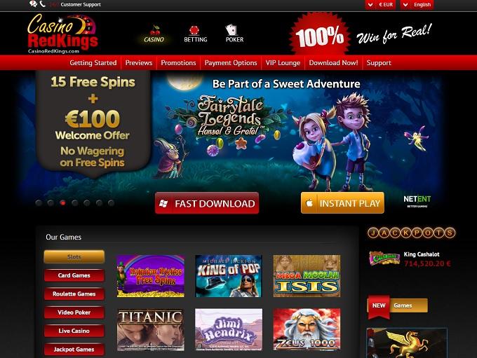 Casino red kings 40 free grand national gambling