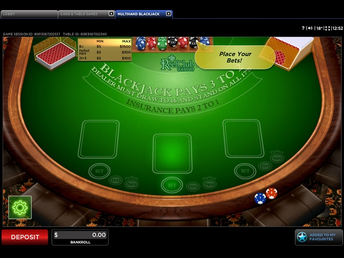 Reef Club Casino Free Download