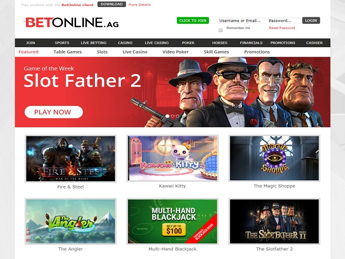 BetOnline Casino is Rated 2 5 out of 5 in 2019 ▷ 2 Bonuses