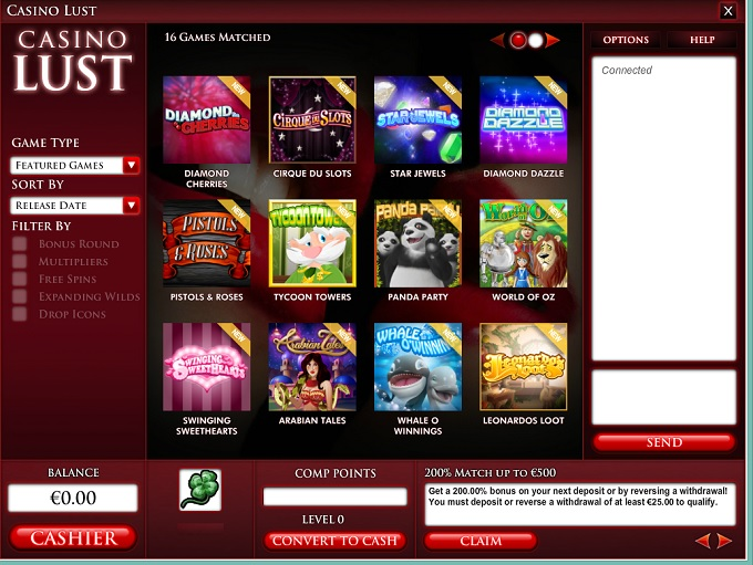casino lust review