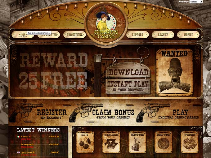 Gibson Casino Review – Online Casino Reviews