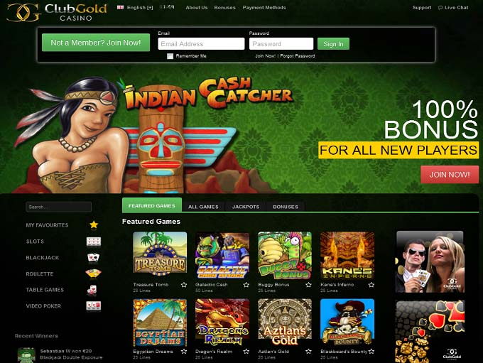club gold casino wagering