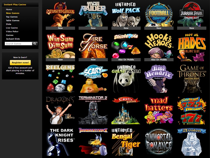 online game casino gaming