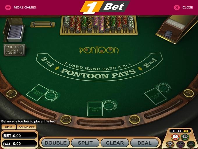 Genting casino pontoon rules
