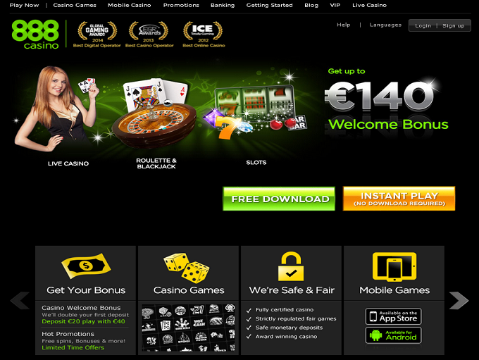 888 online casino novo lines