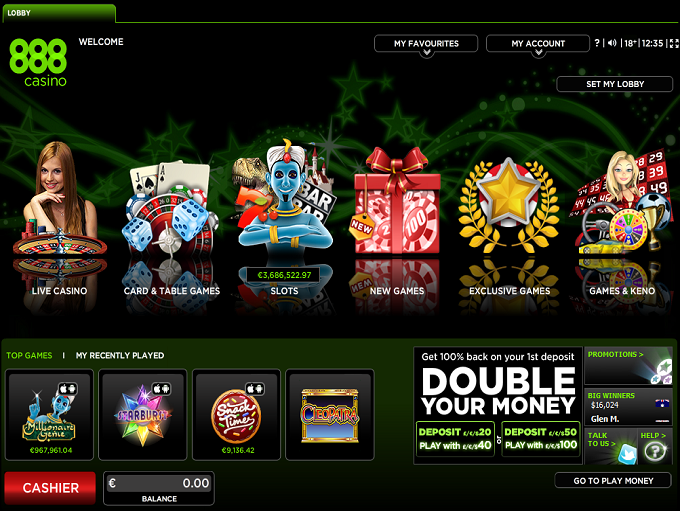 online casino 888 king of casino