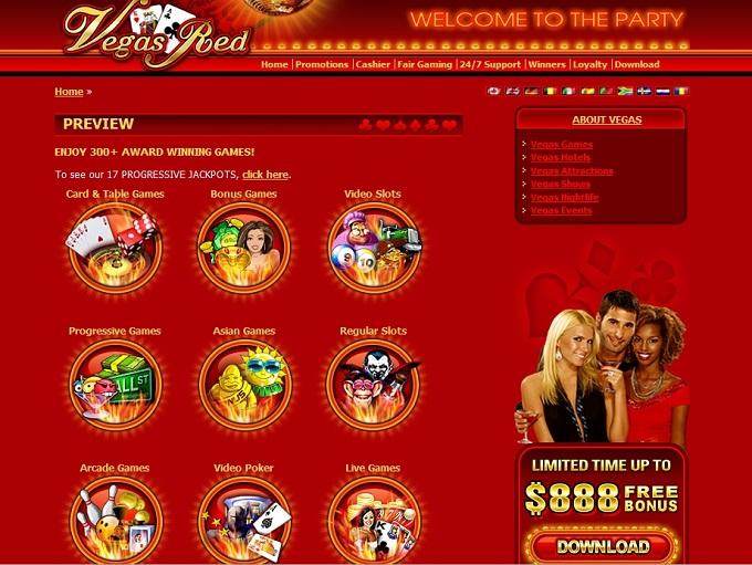 casino vegasred