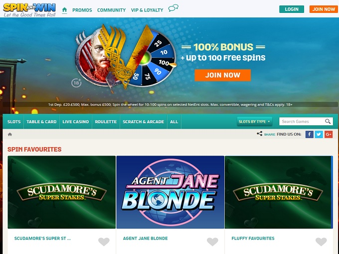 Spin and Win Casino is Rated 3 9 out of 5 in 2019 ▷ 4 Bonuses