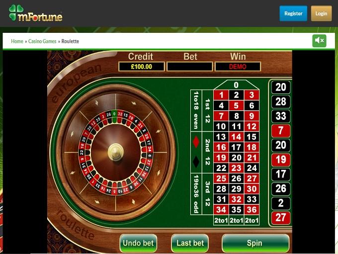 mfortune mobile casino