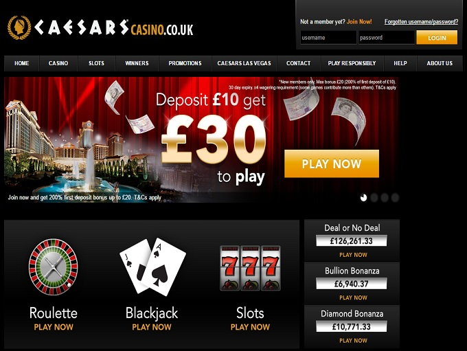 caesars casino online lord of