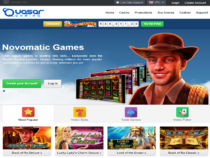 online casino games reviews quarsar
