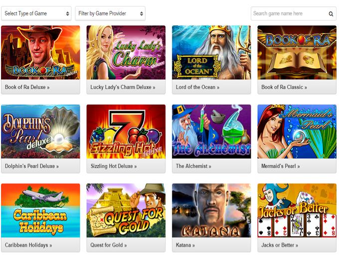 online slots games quasar