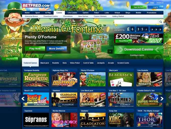 Betfred free casino