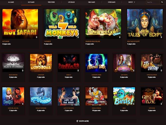 sunset slots casino online