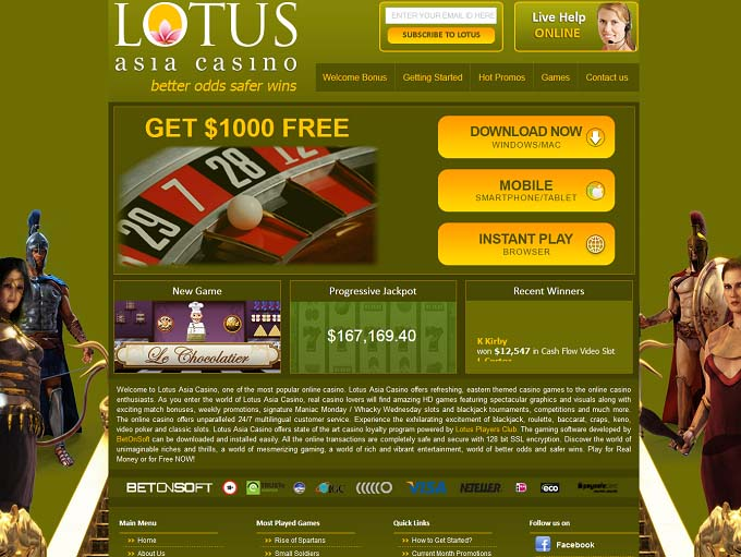 Lotus Asia Casino Review – Is this A Scam/Site to Avoid