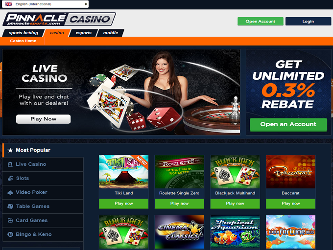 Pinnacle Casino Review – Expert Ratings and User Reviews