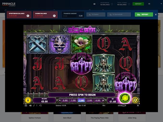Pinnacle Sports Casino