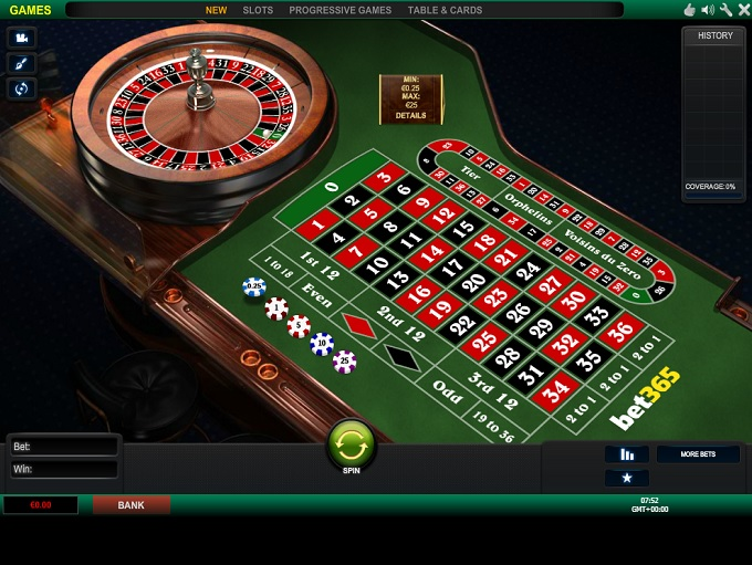 bet365 casino tricks