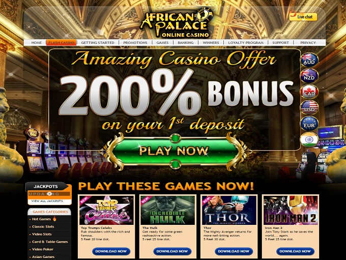 African palace casino online eaglecasino
