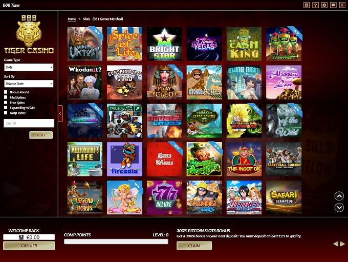 888 Tiger Casino is RECOMMENDED! For 2019 ▷ Read Why