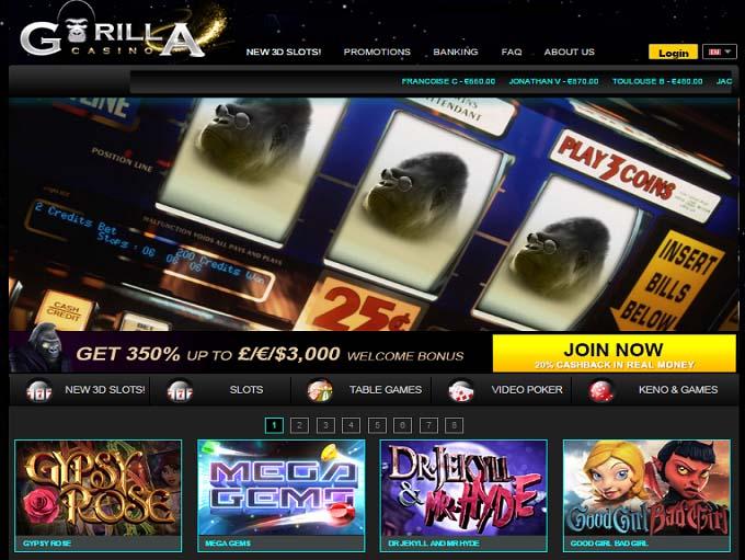 Online Casino Casino Gorilla