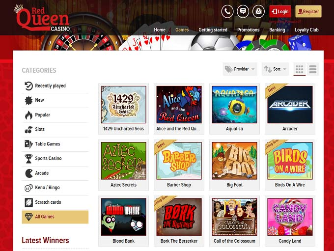 Red Queen Casino Review
