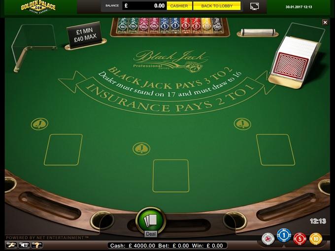 casino black jack rule