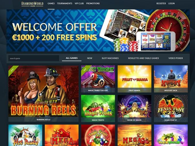 World casino online