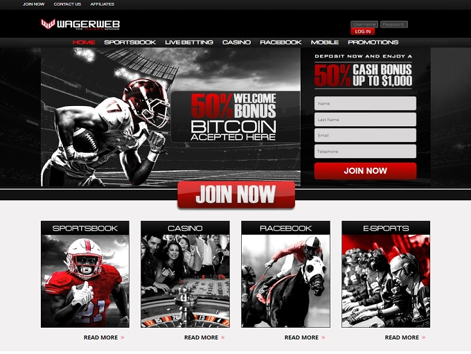 Review Of WagerWeb Sportsbook