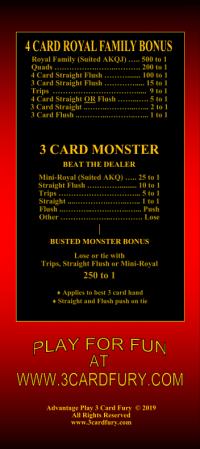 rack card back
