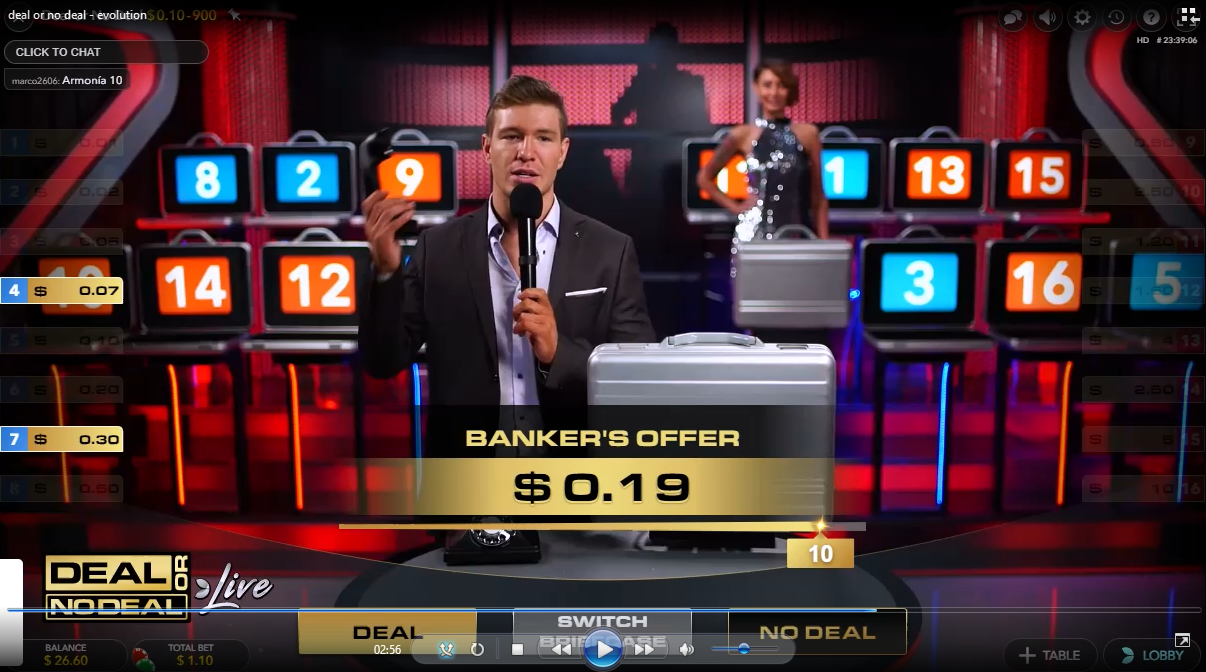 Deal Or No Deal Online Game Win Real Money