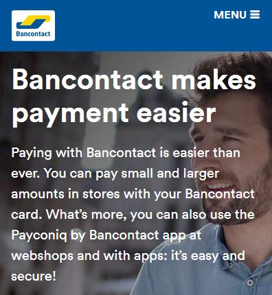 About Bancontact