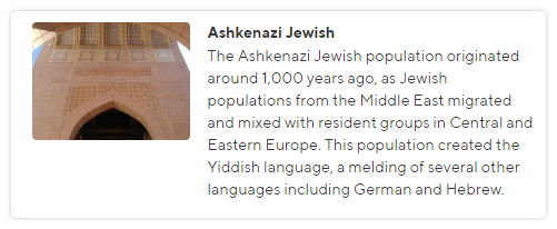 Ashkenazi Jewish
