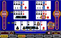 ultimate x spin poker example 1